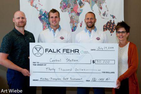 FalkFehr 2019 golf cheque presentation central station.jpg